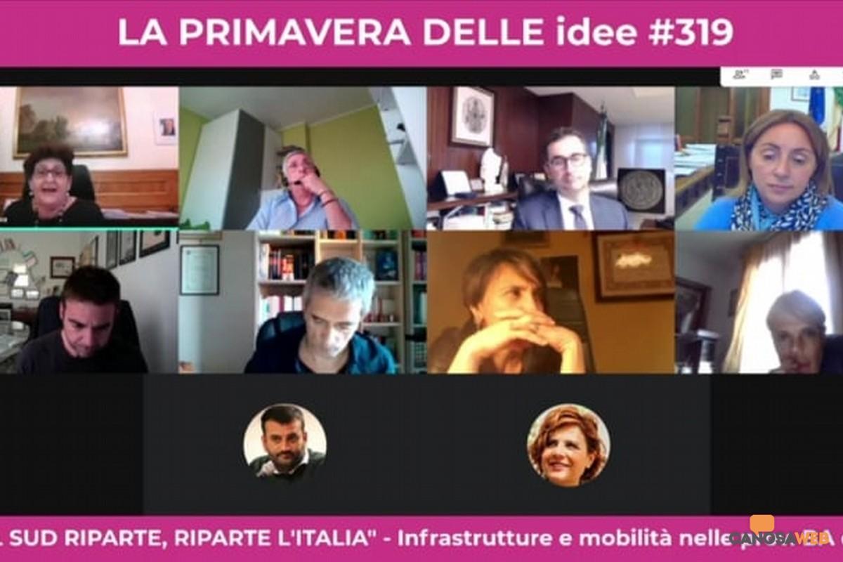 Se riparte il Sud, riparte l'Italia: infrastrutture e mobilità province Bari e BAT