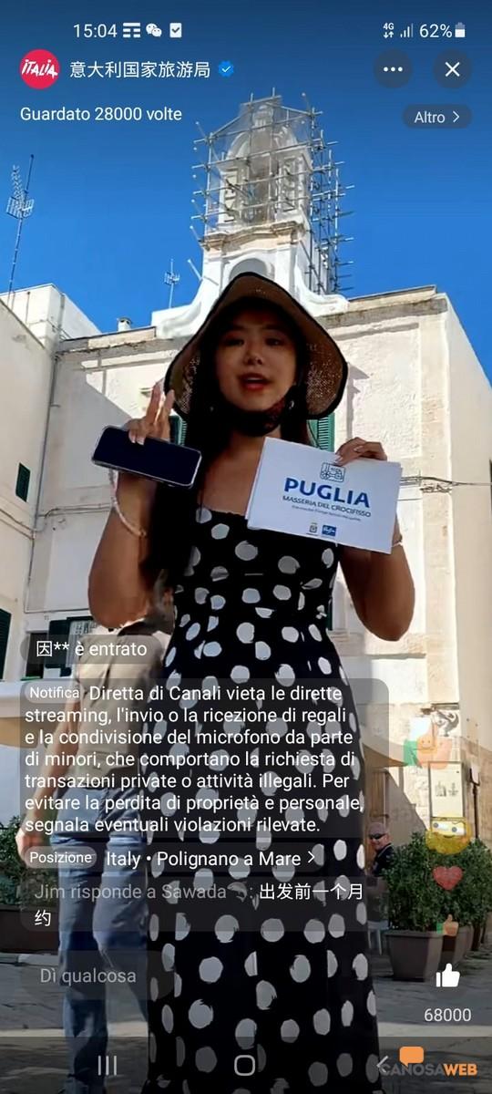 Wei lan in Puglia