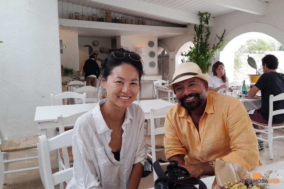 Wendi Hu americana blogger Puglia
