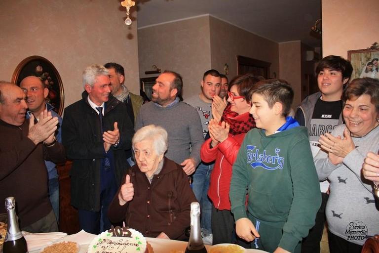 105 anni Lucia Fiore
