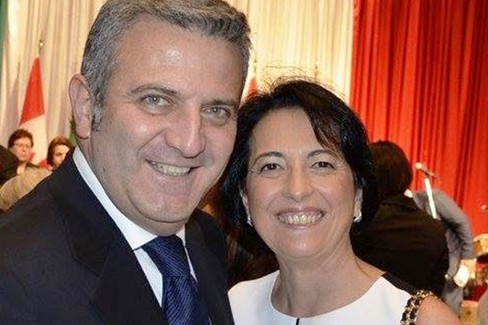 Coniugi Angela Maria Pirozzi e Antonio Giannetti
