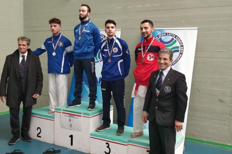 3°posto Luca Silvestri Karate