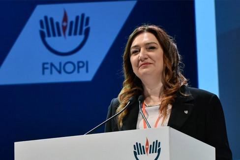 Barbara Mangiacavalli Presidente fnopi