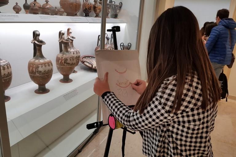 Studente Pavoncelli Fondazione Archeologica Canosina Museo Archeologico