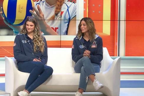 Cristina Chirichella  e Stefania Sansonna