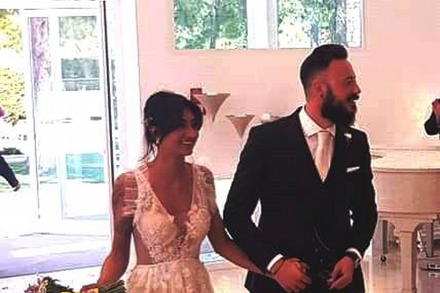 Sposi Valentina Lenoci e Domenico Muggeo