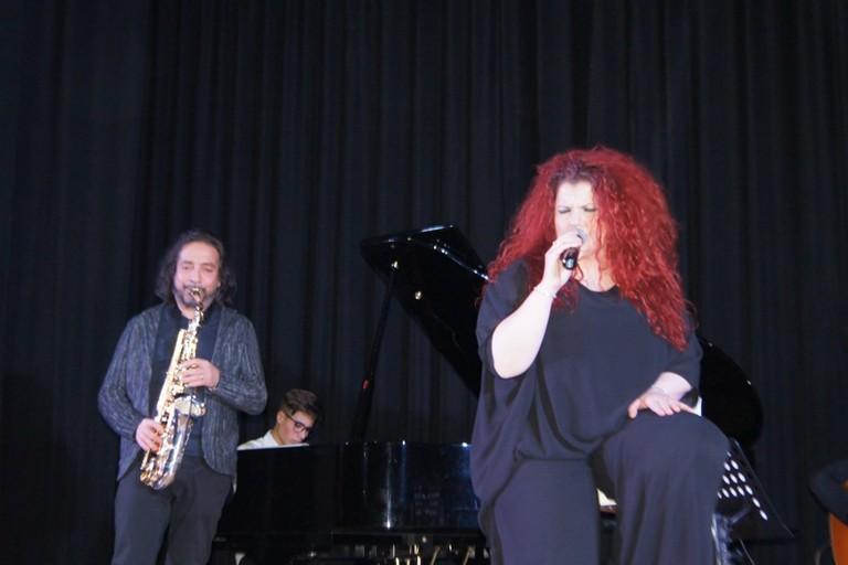 Lucia Diaferio e Pino Lentini
