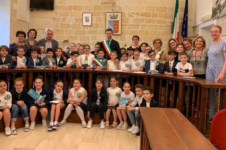 Sindaco Morra - Istituto Comprensivo  Foscolo Lomanto di Canosa di Puglia(BT)