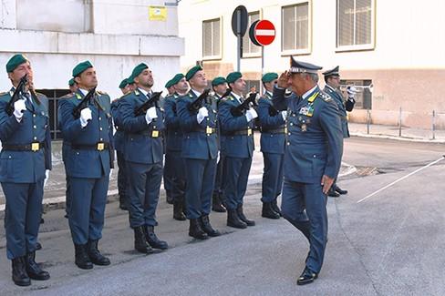 Il Comandante Generale della Guardia di Finanza a Bari
