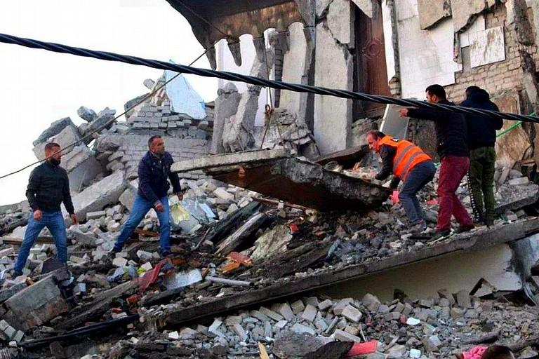 Terremoto Albania 2019
