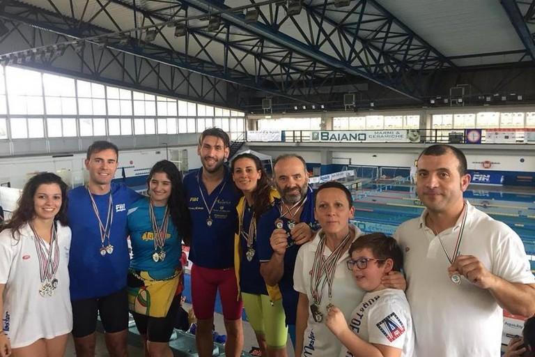 Aquarius Piscina Canosa Trofeo Flegreo Pozzuoli per Master