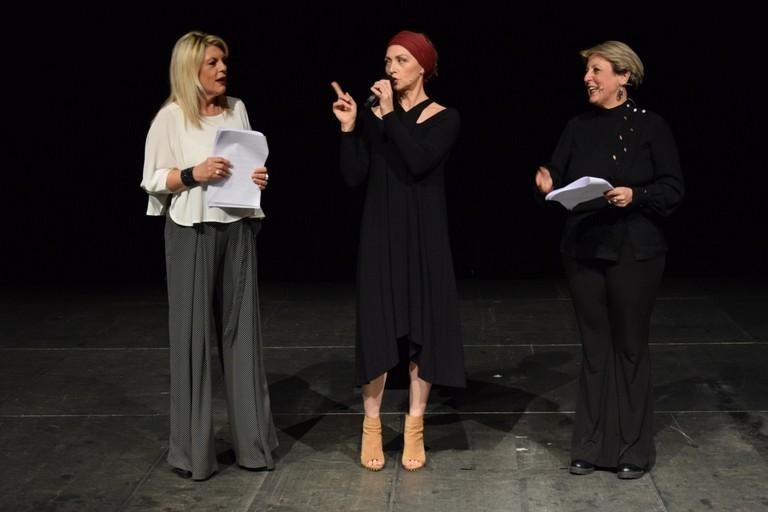 Mariella Lippo, Elisa Barucchieri e Maria Passaro