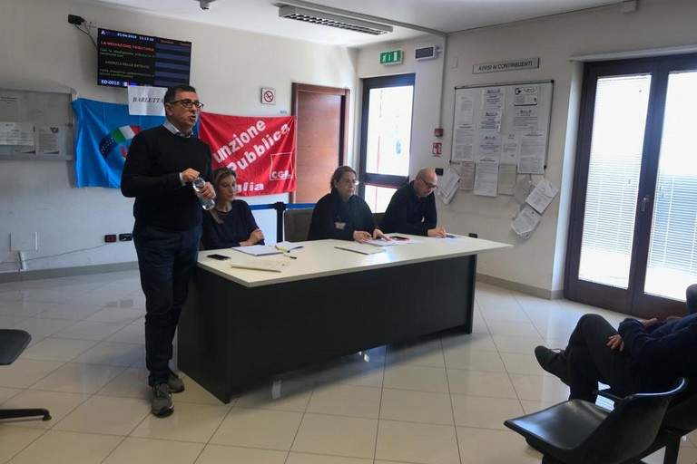 Assemblea Agenzie delle Entrate Barletta