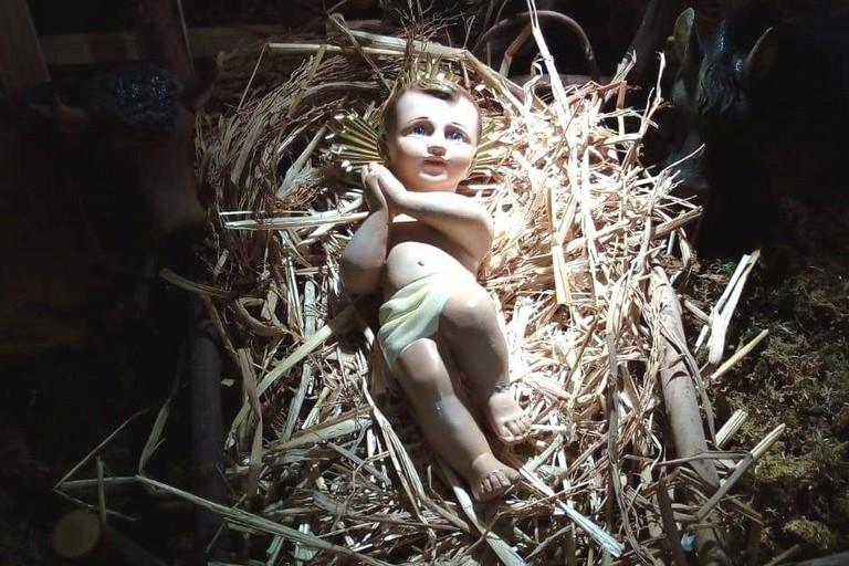 Bambinello del Presepe di Santa Teresa del Bambin Gesù- Canosa