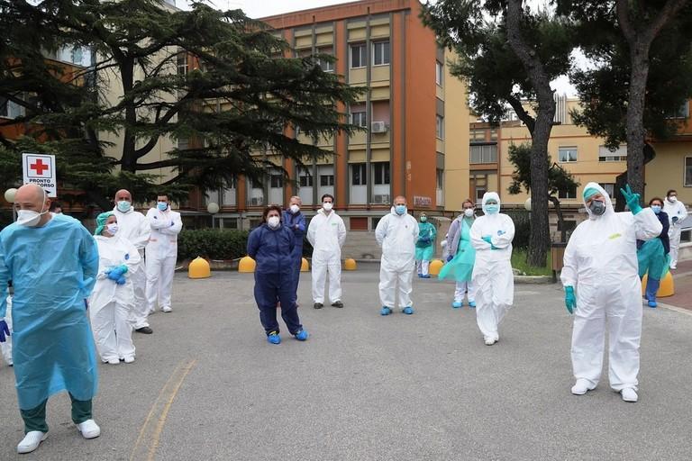 Bisceglie Coronavirus  Operatori Sanitari