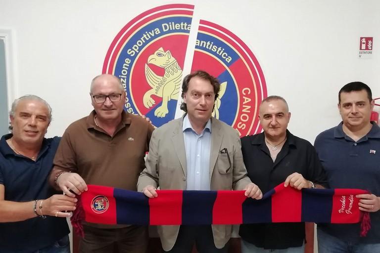Staff tecnico Canosa Calcio 1948