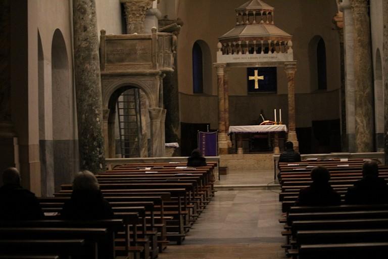 2020 Cattedrale San Sabino Canosa Coronavirus