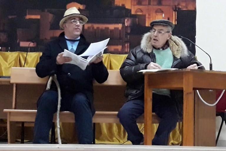 M' arrecòrde Canàuse con Leonardo D'Aulisa e Antonio Faretina