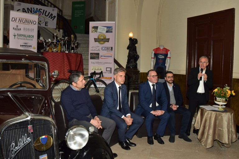 Presentazione 1° Memorial Michele Fontana-4° Gran Premio di Apertura