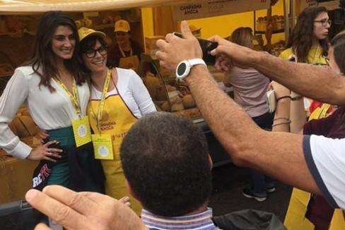 Elisa Isoardi  Campagna Amica Coldiretti