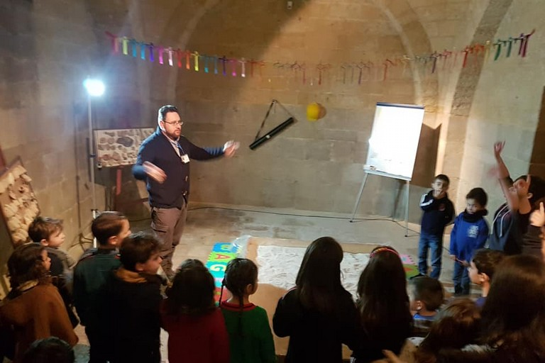 Laboratori didattici Archeologi Museo dei Vescovi Canosa