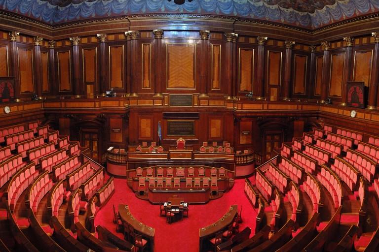 Italia il parlamento struttura competenze e legge elettorale for Votazioni parlamento