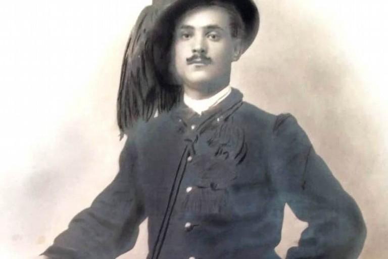 Pasculli Michele Bersagliere I Guerra Mondiale