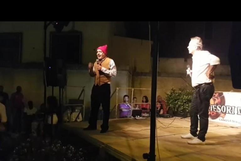 Peppino Di Nunno e Fernando Forino Festa Emigrante