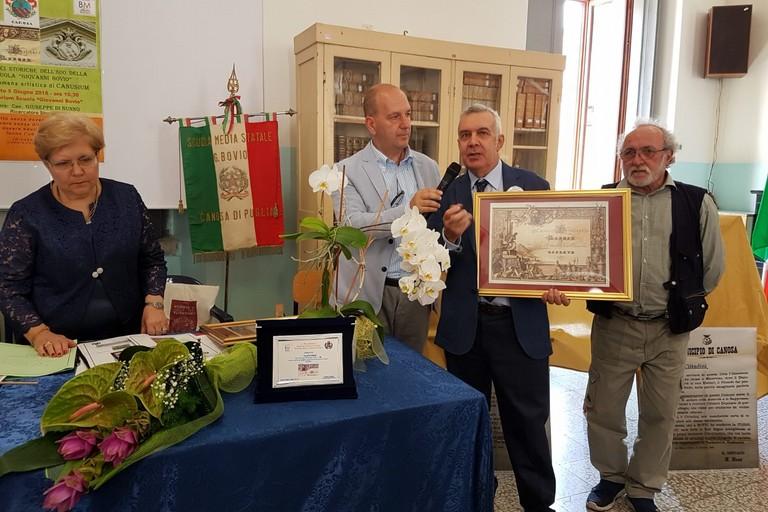 Pergamena G.Bovio Matteo Barboni Giuseppe Di Nunno Paolo Pinnelli