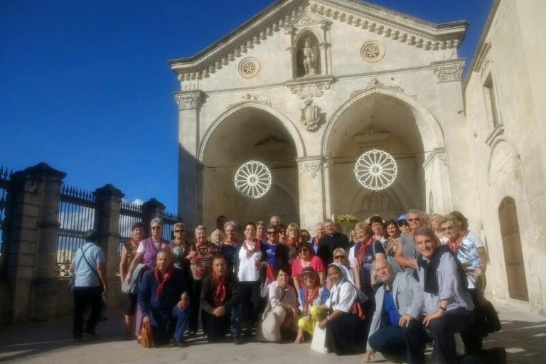 Pellegrinaggio dei fedeli valdostani in Puglia