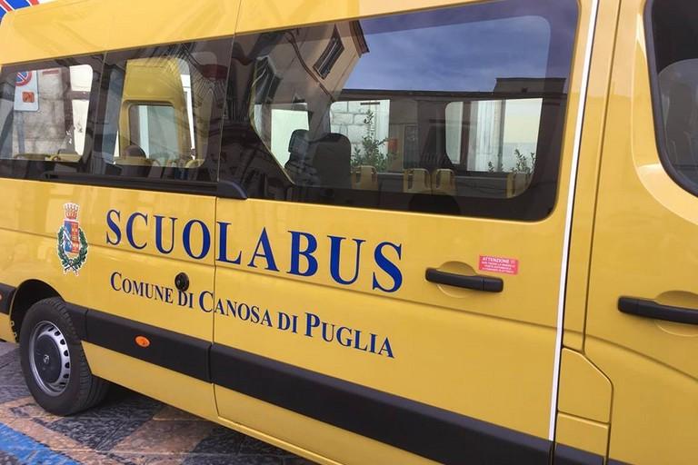 Canosa: scuolabus per i bambini