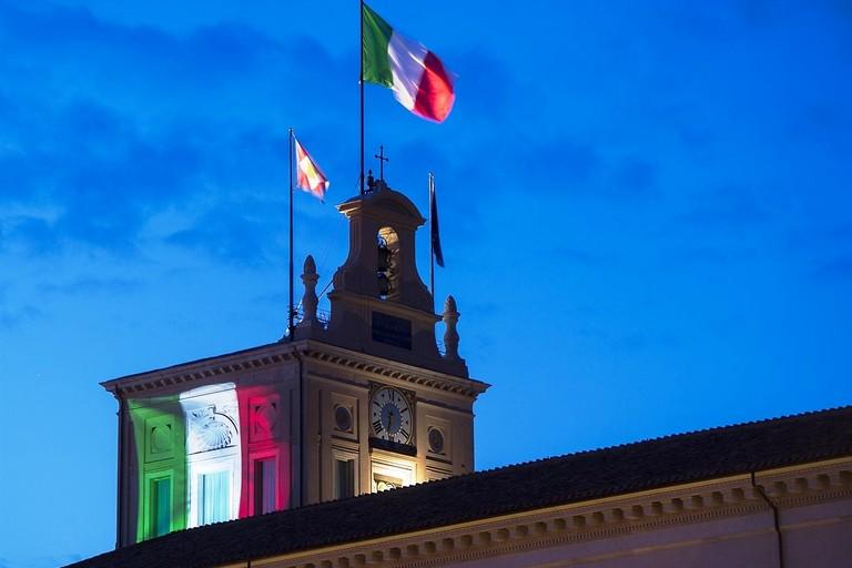 Roma Torrino del Quirinale  Tricolore