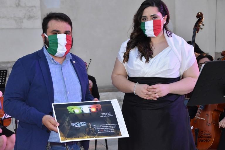 2020 Festa della Repubblica Elia Marro e Monica Paciolla
