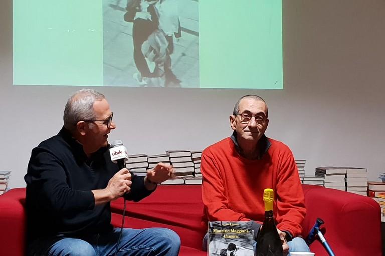 Michele Trecca  e Maurizio Maggiani