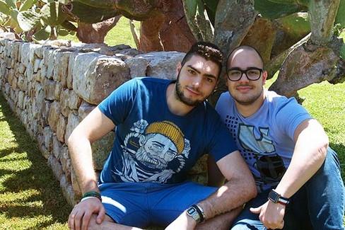 Daniele Chirico e Michael Candido