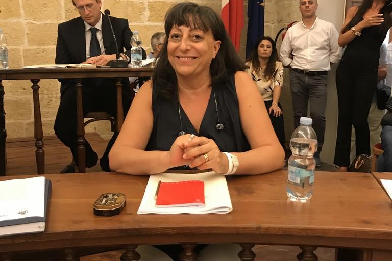 Sabina Anna Lenoci. assessore  urbanistica