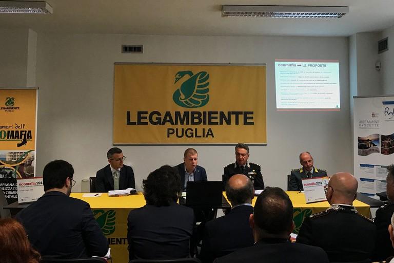 Legambiente conferenza-Ecomafia 2018-