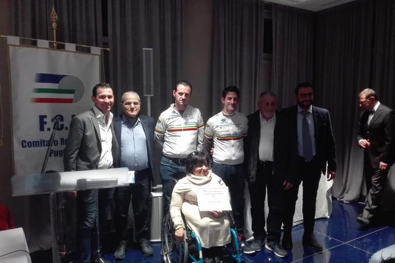 2019 Festa FCI Puglia Premiazione paraciclismo