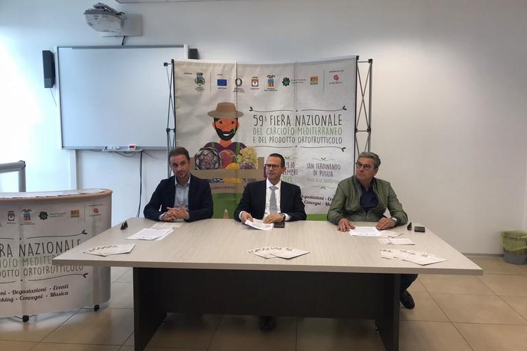 2019 Fiera Carciofo conf-stampa San Ferdinando di Puglia