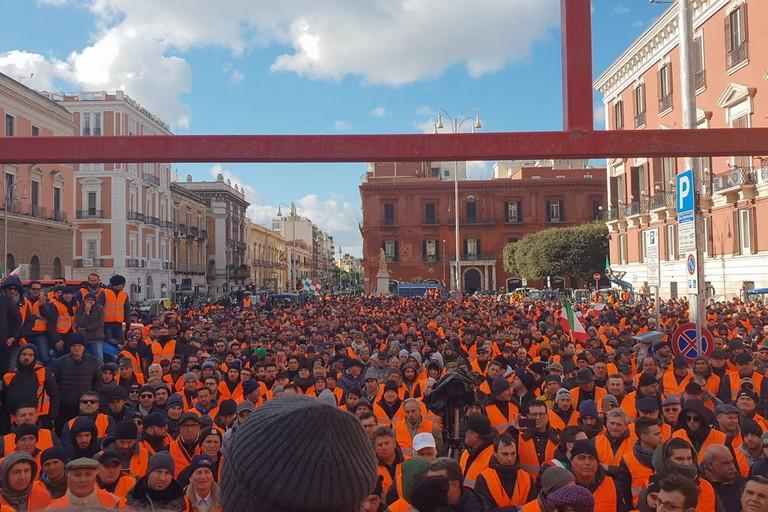 2019 Bari 'Gilet arancioni' Agricoltura