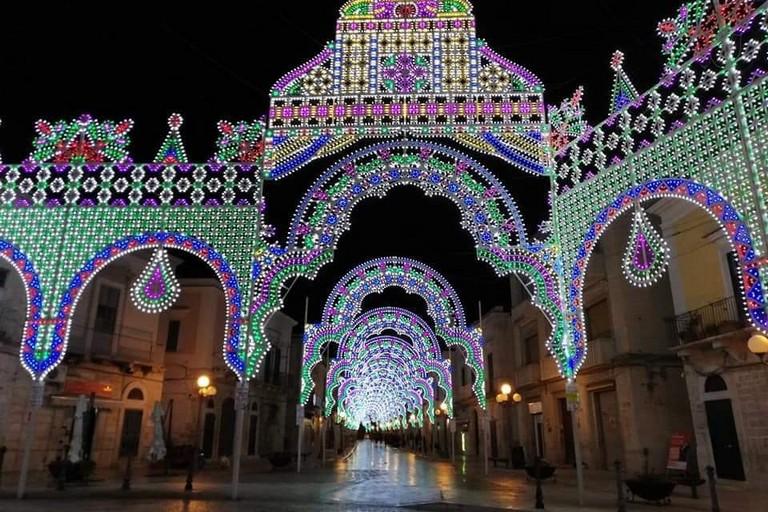 Luminarie Festa Patronale San Sabino Canosa
