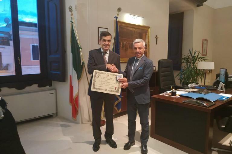 Prefetto Emilio  SENSI e Michele  CINIERO