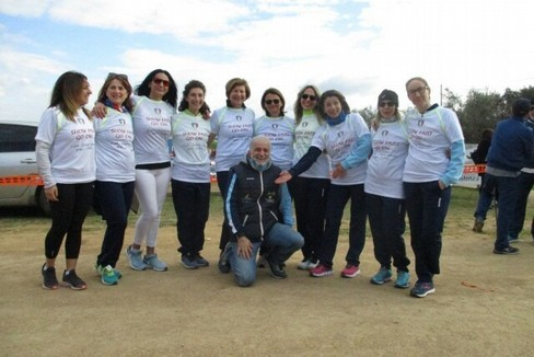 2020 Atletica Pro Canosa  vince il titolo regionale di cross a squadra donne