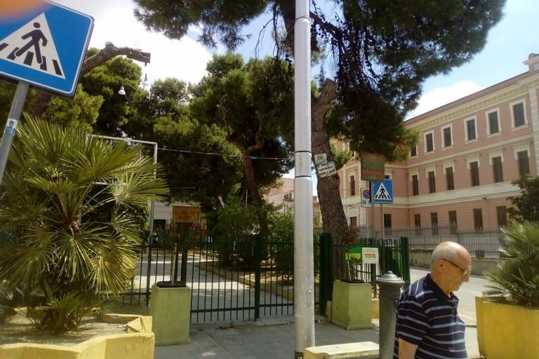 Canosa, aiuola San Pio X