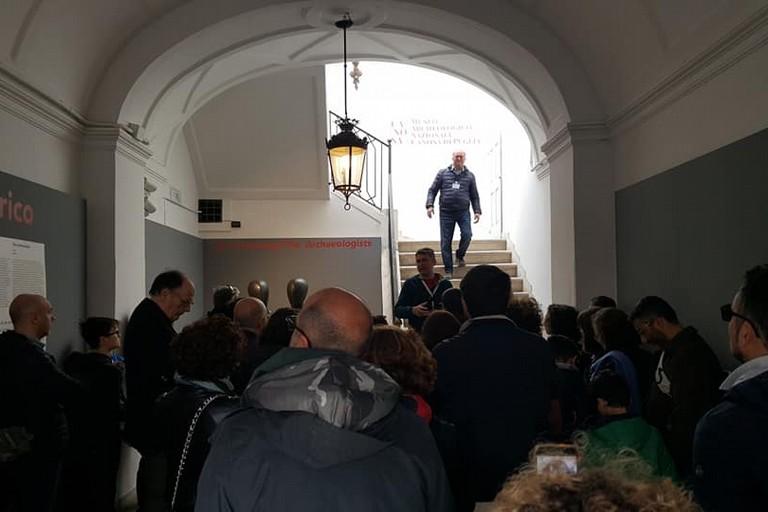 Turisti Museo Archeologico Nazionale Canosa di Puglia(BT)