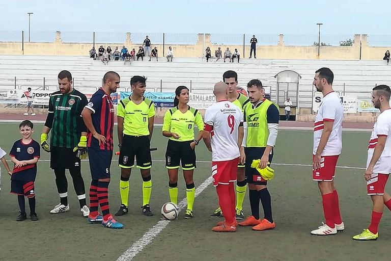 Canosa- Borgorosso Molfetta Arbitro Giorgia Cacciapaglia Sezione  di Bari