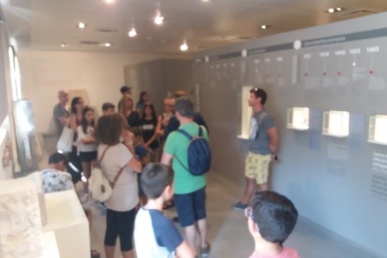 Canne delle Battaglia: visitatori  ANTIQUARIUM  E  PARCO  ARCHEOLOGICO