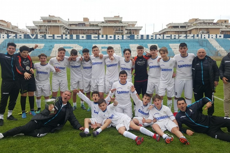 2019  Giovanissimi del  Canosa vincono il Campionato