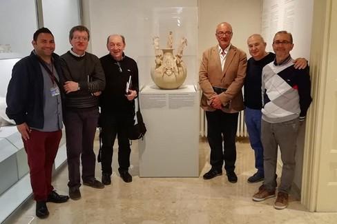 Don Antonio Loffredo a Canosa con rappresentanti della FAC