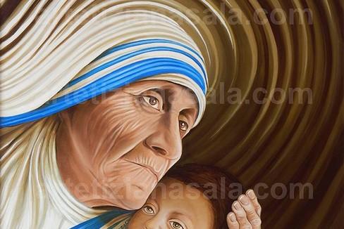 Tiziana Sala ESSENZA UMANA  Amore Vita e Fede Madre Teresa di Calcutta